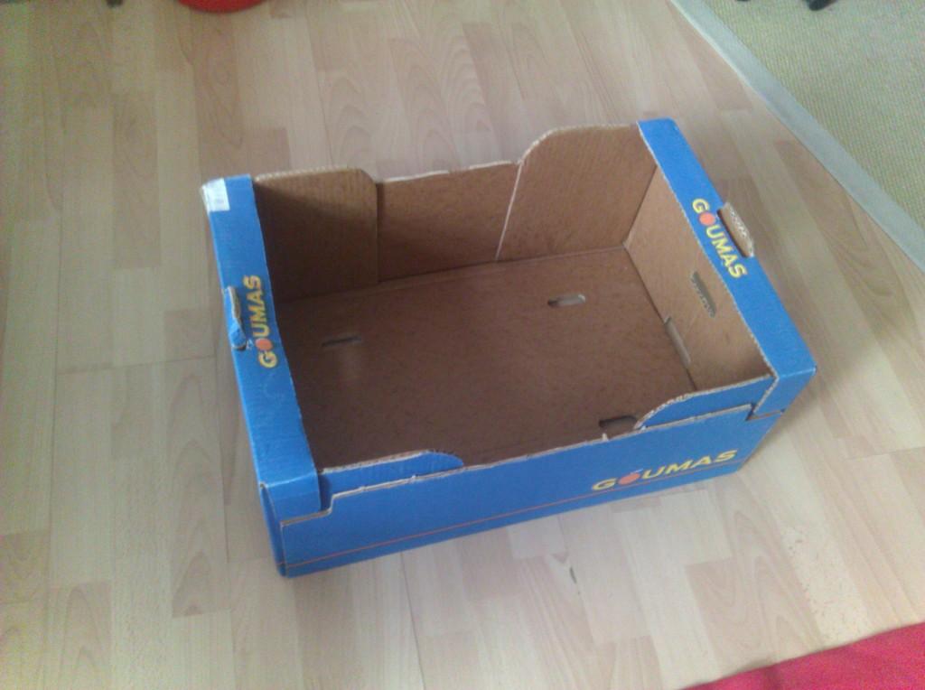 Step 1 - Cardboard Furniture