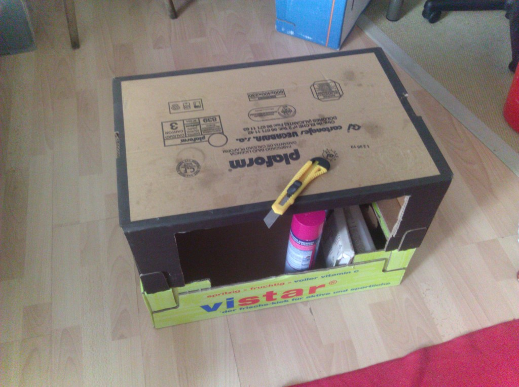 Step 3 - Cardboard Furniture