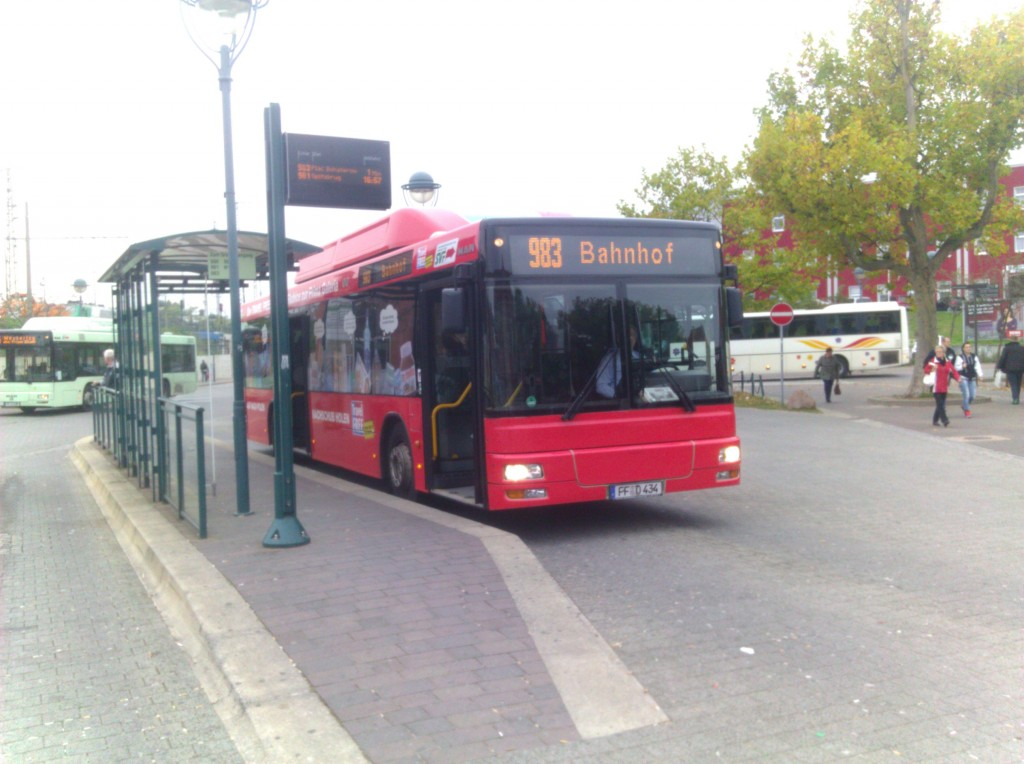 Bus 983 to SÅ'ubice, Poland