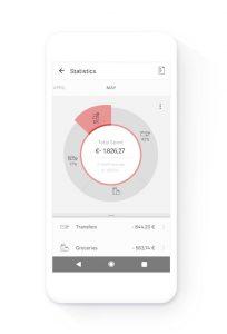 N26 app: Statistics