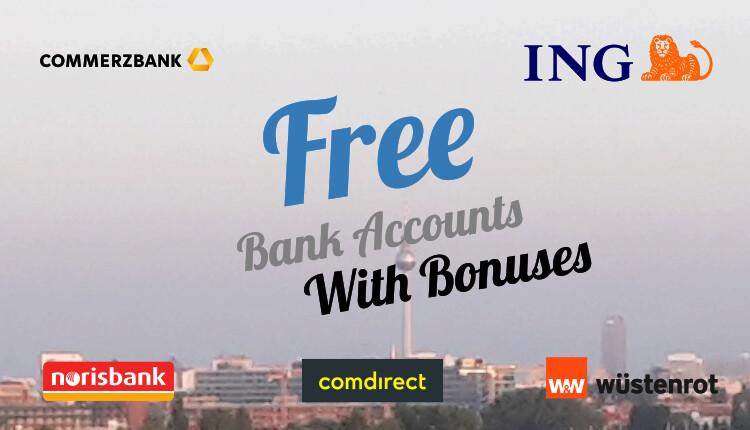 Free Bank Accounts With Bonuses