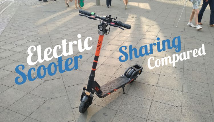 Electric Scooter Sharing Compared