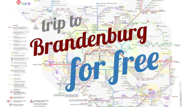 Trip to Brandenburg for free
